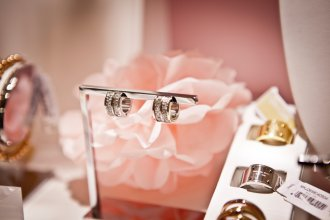 biżuteria elegancka - srebro