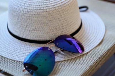 okulary na lato